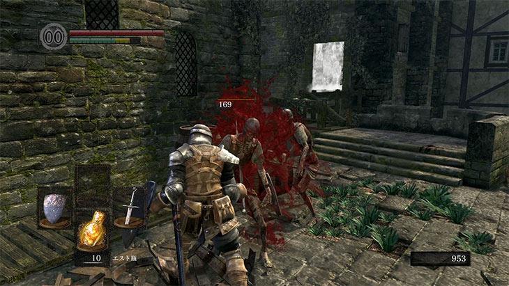 Dark Souls Remasteredの戦闘