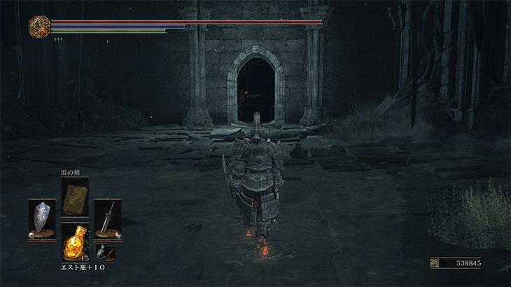 Dark Souls 3の妖王オスロエスのマップ