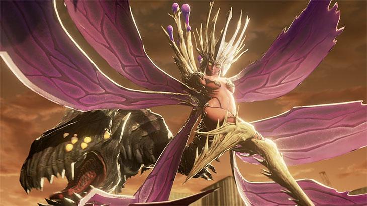Code Veinのボス「狂い咲く毒蝶」