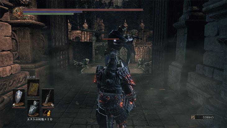 Dark Souls 3の妖王の庭の敵