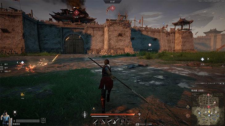 コンカラーズ・ブレードの城門前の戦い