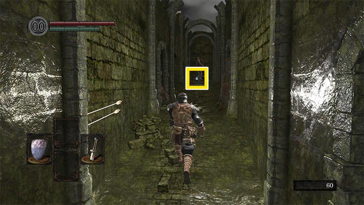Dark Souls Remasteredの北の不死院の初期武器