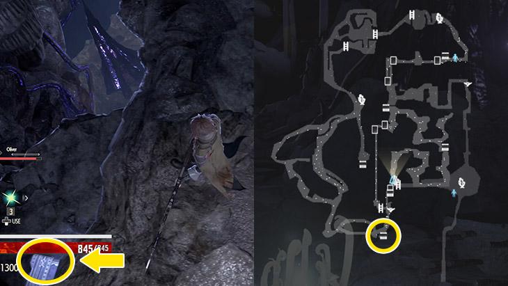 Code Veinの崩壊都市地下区域の隠し宝箱