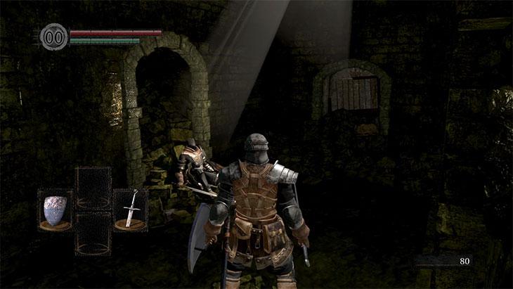 Dark Souls Remasteredの生前のアストラの騎士