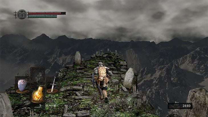 Dark Souls Remasteredの北の不死院外部