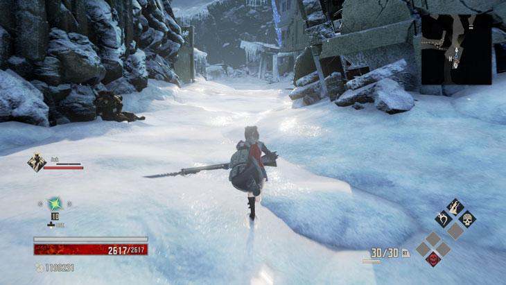 Code Veinの凍てつく霊峰の道