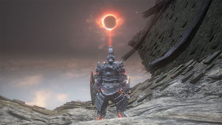 Dark Souls 3の吹き溜まりの遠景