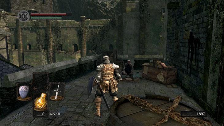Dark Souls Remasteredの城下不死街の商人