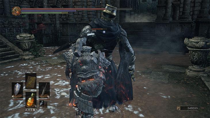 Dark Souls 3のバックスタブ