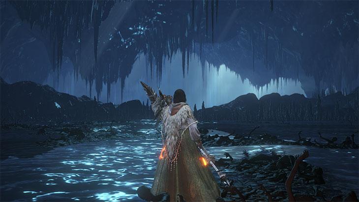 Dark Souls 3の闇喰らいのミディールのマップ