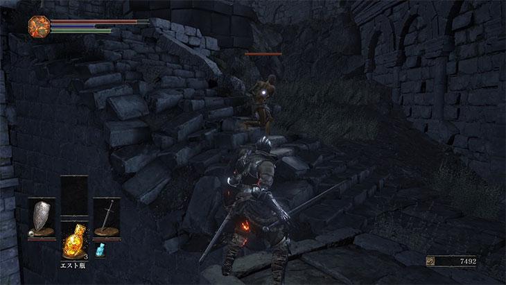 DarkSouls3の火継ぎの祭祀場の達人との対面