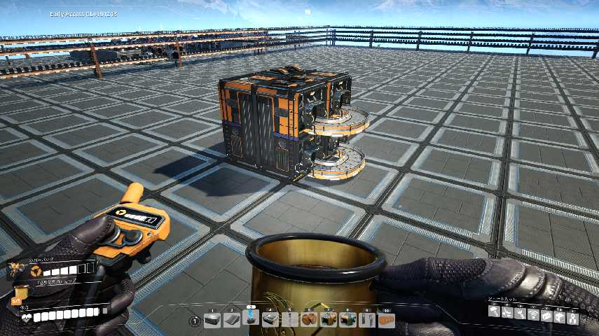 Satisfactoryの基本的な倉庫の形