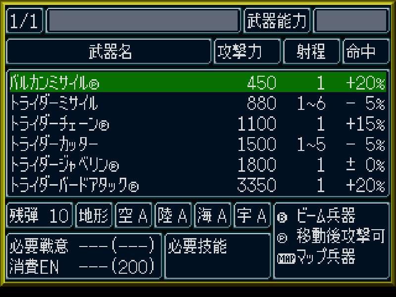 トライダーG7の武装