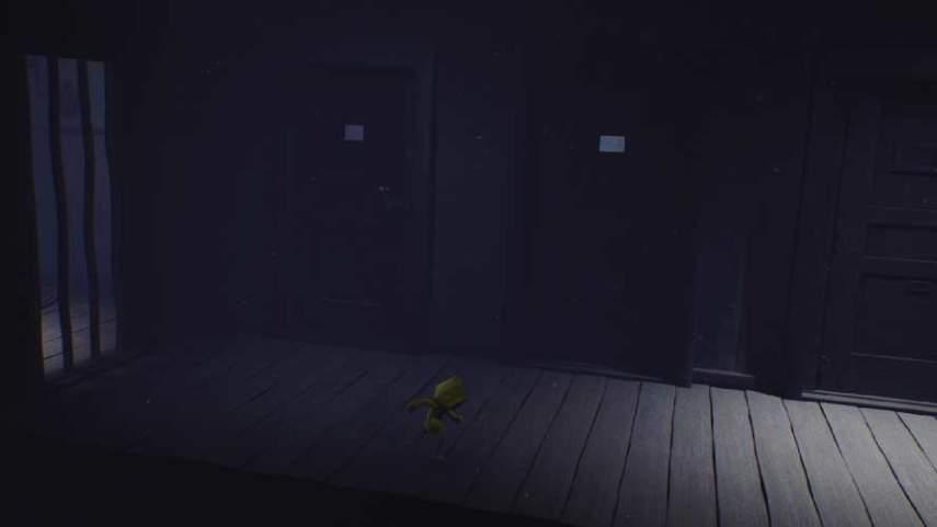 リトルナイトメアの監視の光がある部屋へ