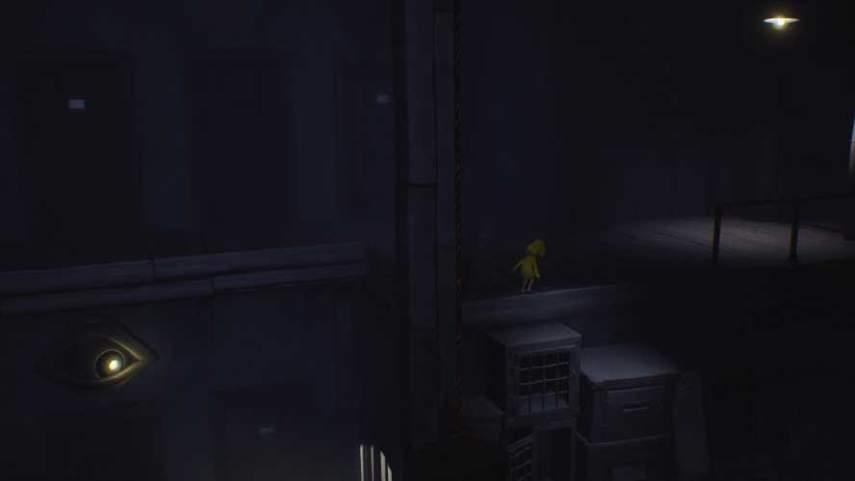 リトルナイトメアの監視の光の部屋の2階