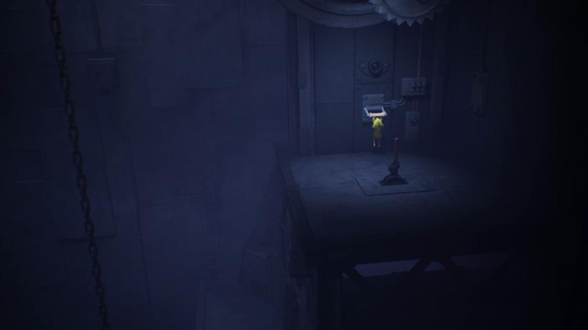 リトルナイトメアの縦長の部屋のレバー
