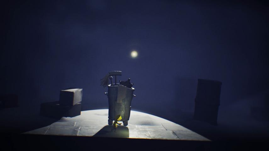 リトルナイトメアの監視の光のよけ方