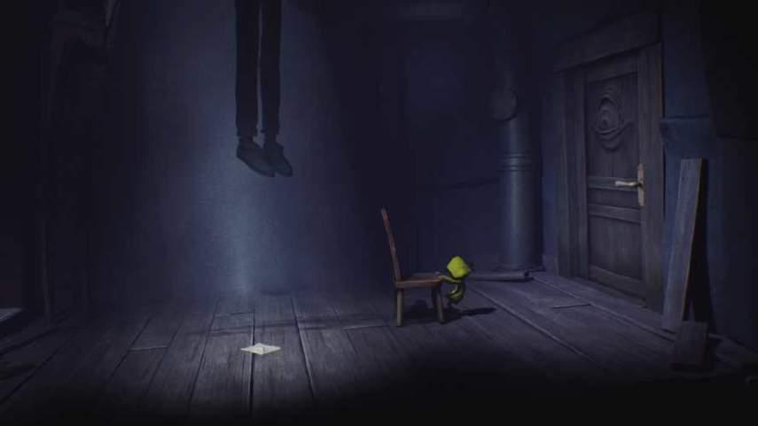 リトルナイトメアの首吊りの部屋のギミック