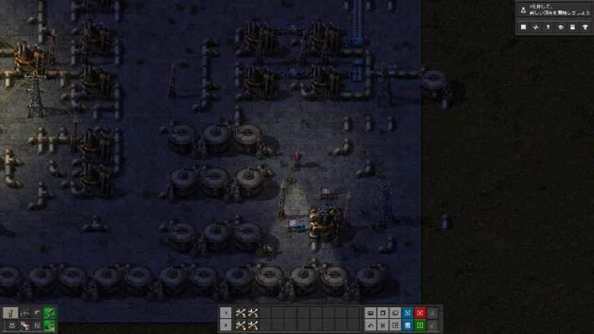 Factorioのパイプ間の移動