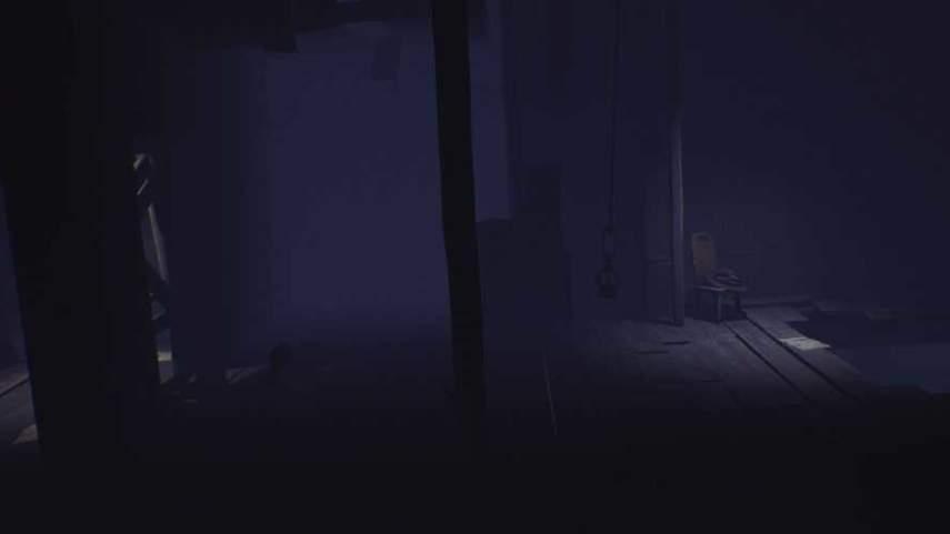リトルナイトメアの崩れる部屋