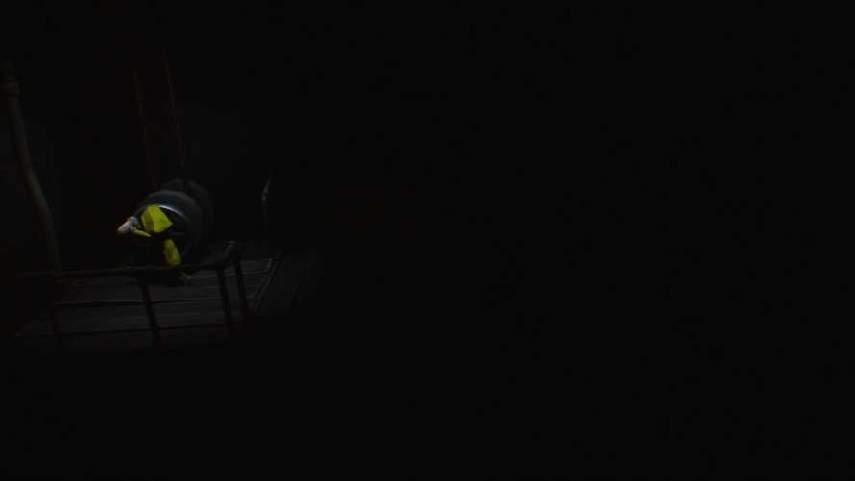 リトルナイトメアの崩れた木の部屋のレバー