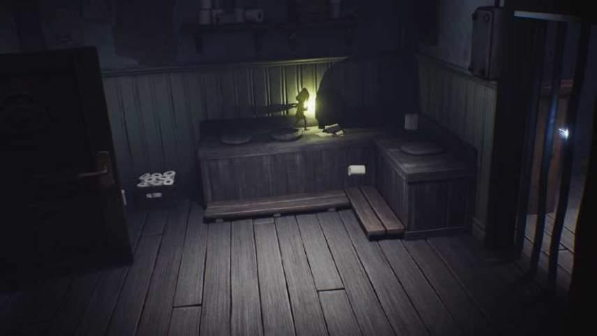 リトルナイトメアの隠し電気スイッチのある部屋